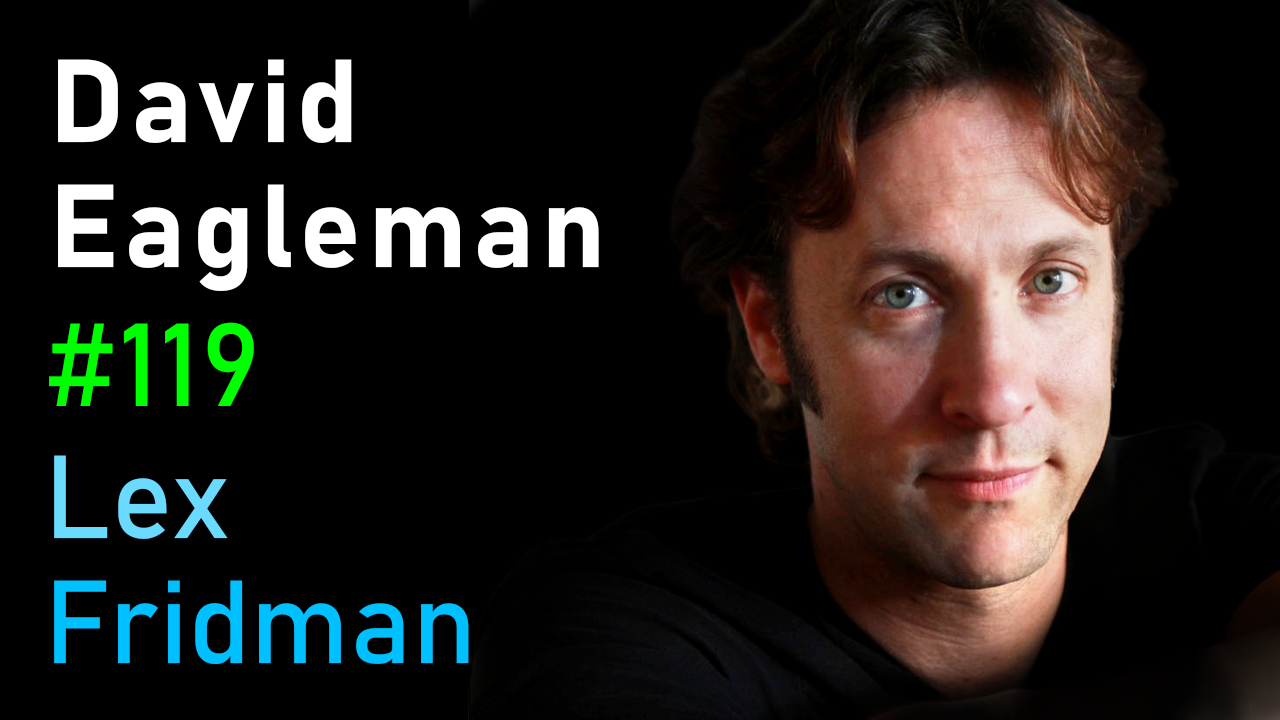 #119 – David Eagleman: Neuroplasticity and the Livewired Brain