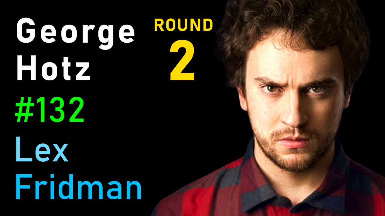 #132 – George Hotz: Hacking the Simulation & Learning to Drive with Neural Nets