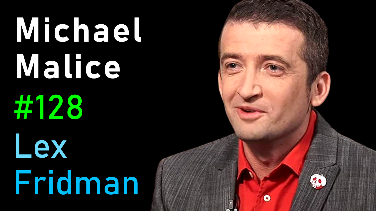 #128 – Michael Malice: Anarchy, Democracy, Libertarianism, Love, and Trolling