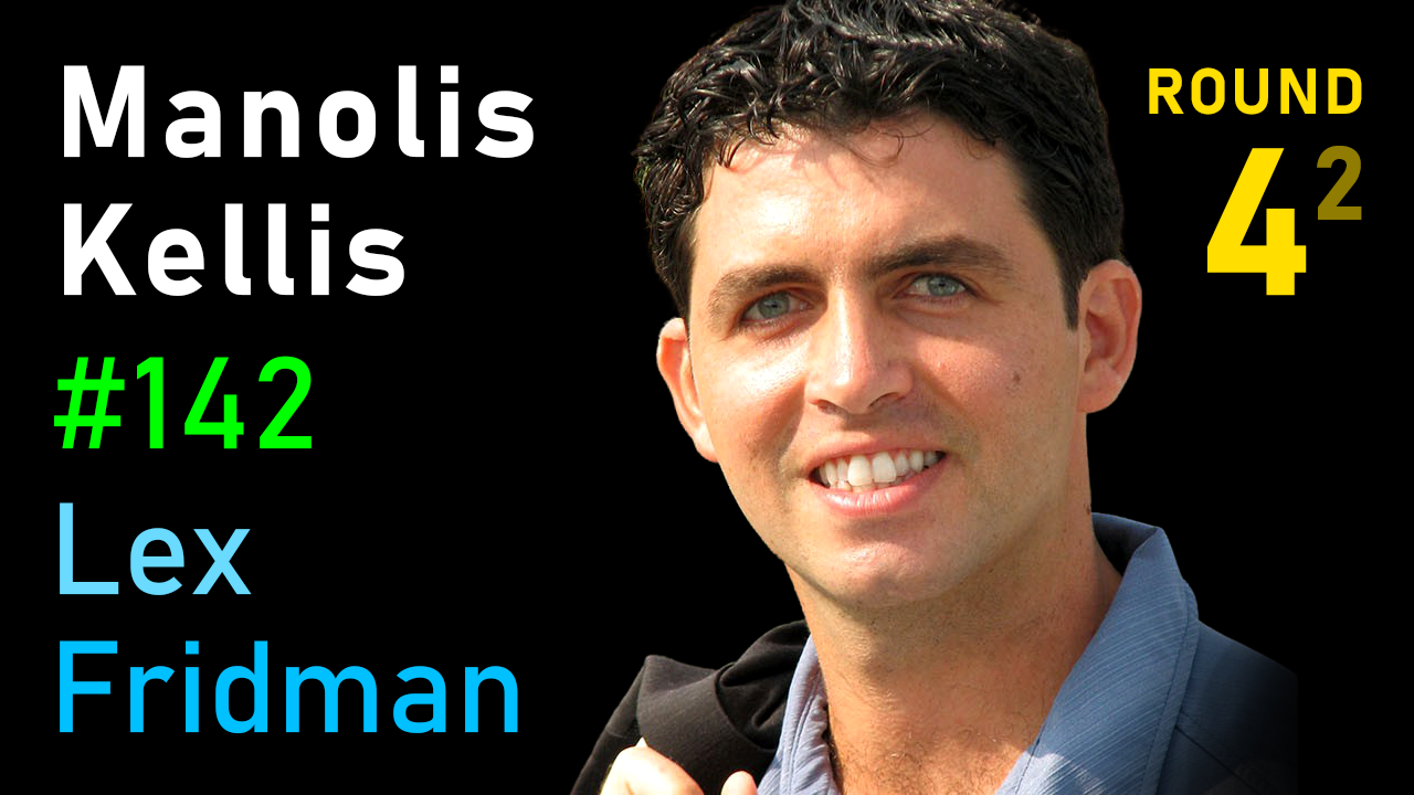 #142 – Manolis Kellis: Meaning of Life, the Universe, and Everything
