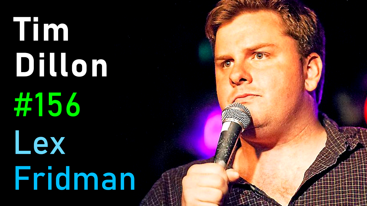 #156 – Tim Dillon: Comedy, Power, Conspiracy Theories, and Freedom