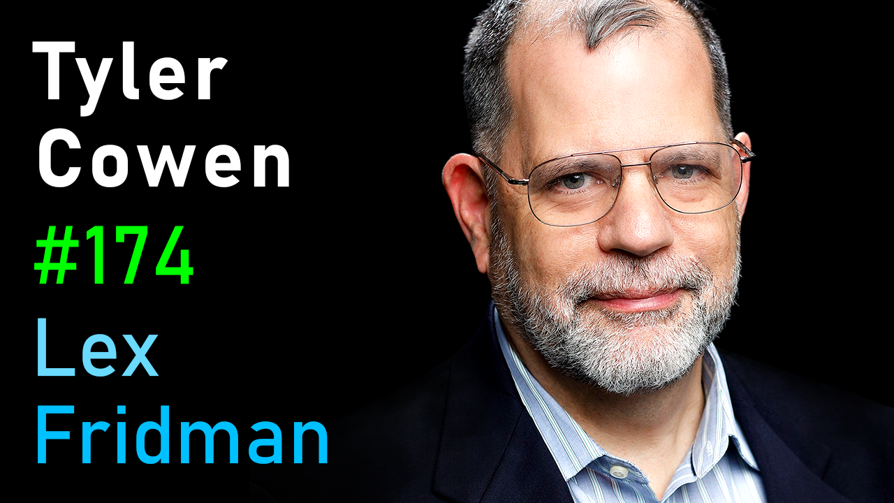 #174 – Tyler Cowen: Economic Growth and the Fight Against Conformity and Mediocrity