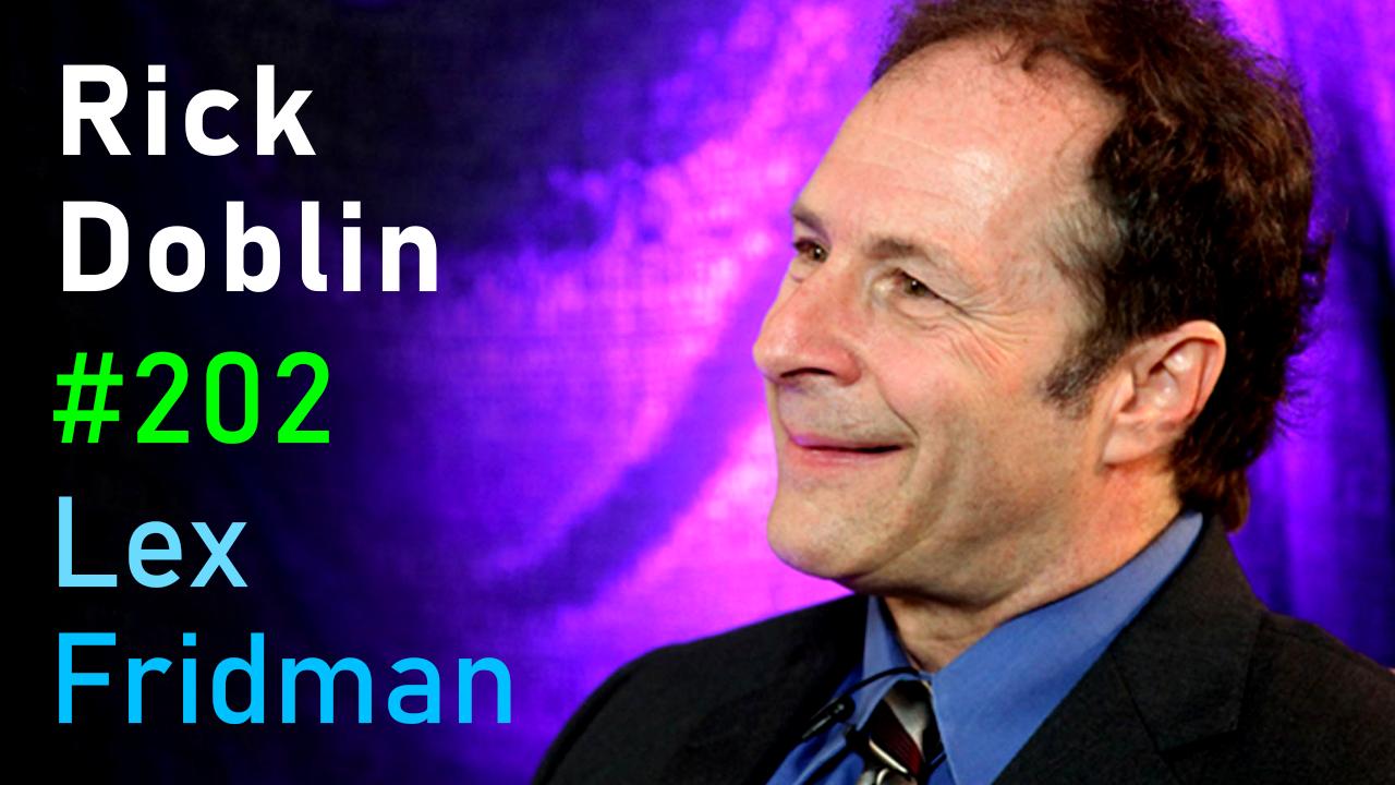 #202 – Rick Doblin: Psychedelics