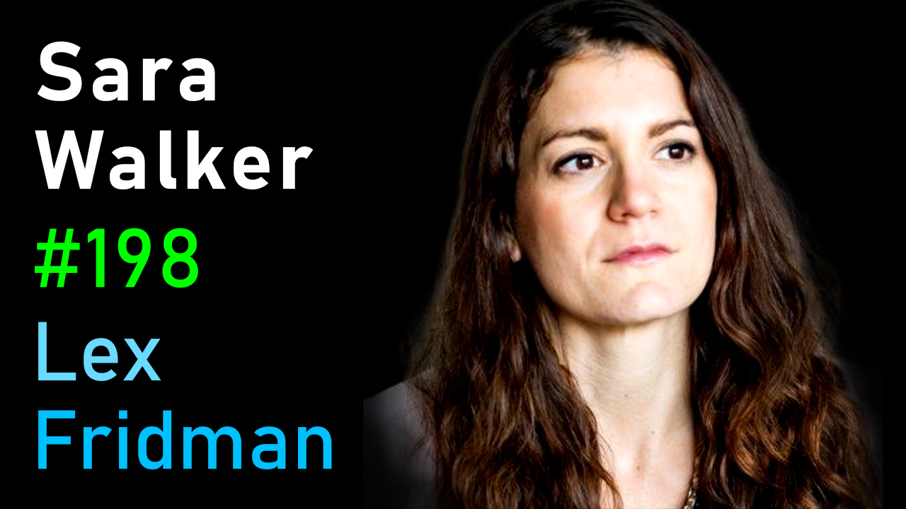 #198 – Sara Walker: The Origin of Life on Earth and Alien Worlds