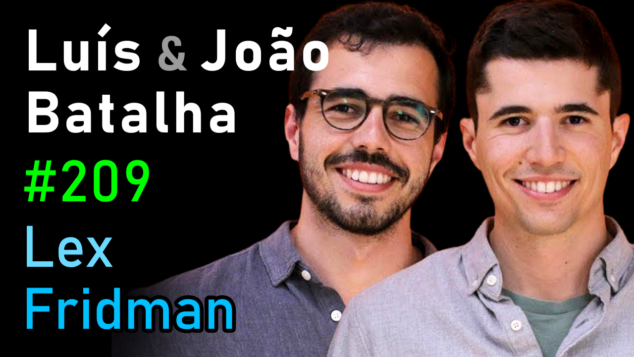 #209 – Luís and João Batalha: Fermat's Library and the Art of Studying Papers