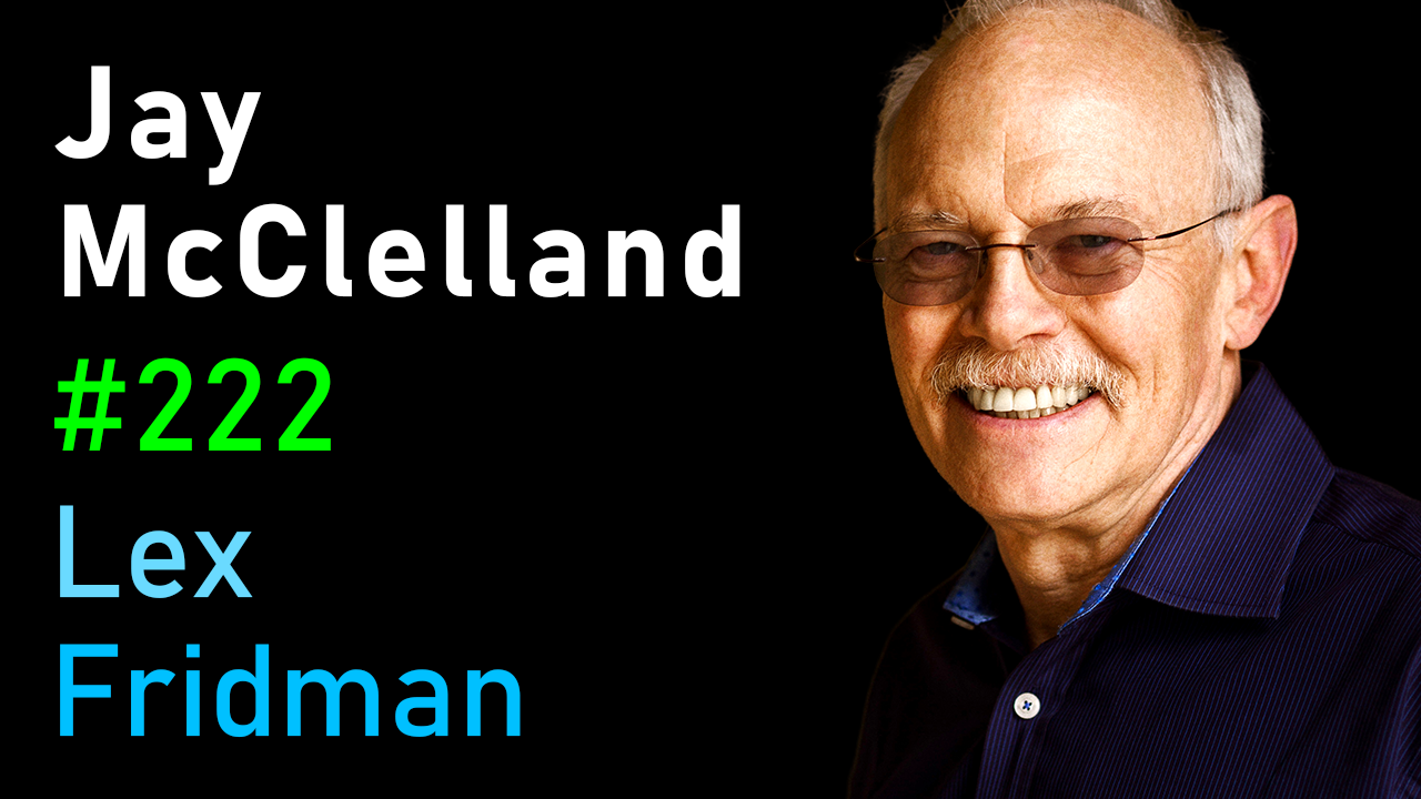 #222 – Jay McClelland: Neural Networks and the Emergence of Cognition